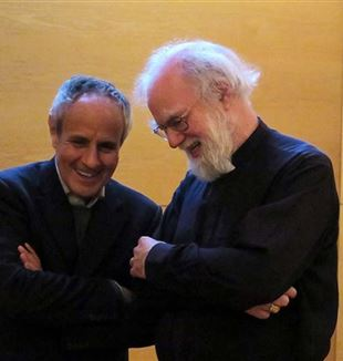 Julián Carrón e Rowan Williams